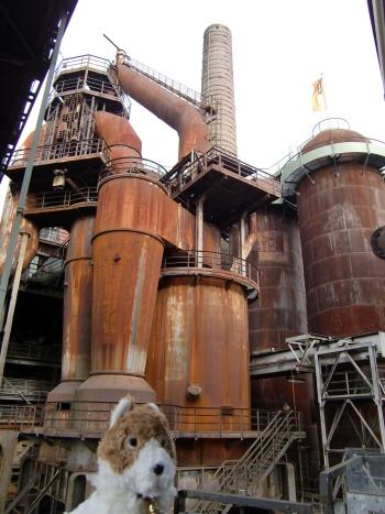 フェルクリンゲン製鉄所の内部